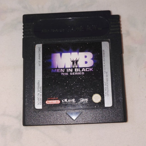 Men In Black: The Series (Nintendo Gameboy Color) Game