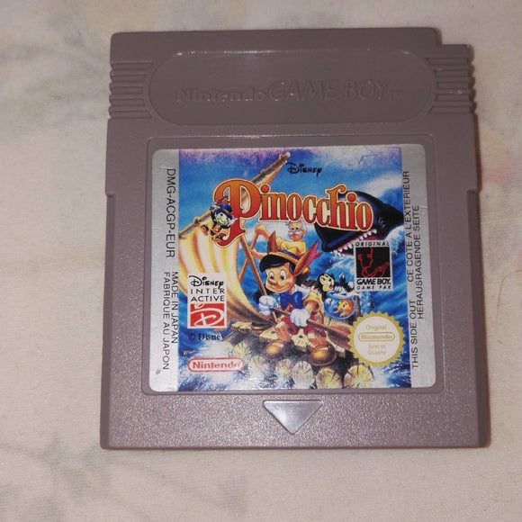 Disney Pinocchio (Nintendo Gameboy) Game