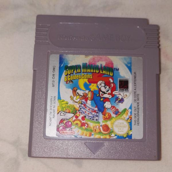 Super Mario Land 2: 6 Golden Coins (Nintendo Gameboy) Game