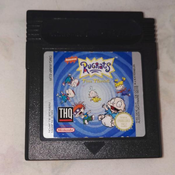 Rugrats Time Travelers (Nintendo Gameboy) Game