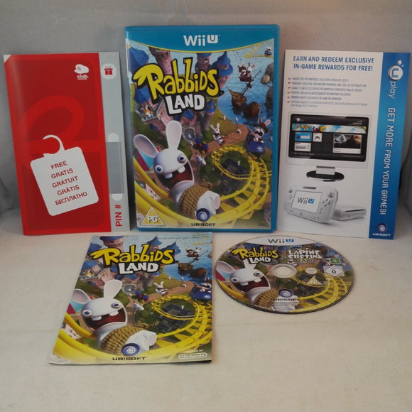 Rabbids Land (NINTENDO Wii U) Game