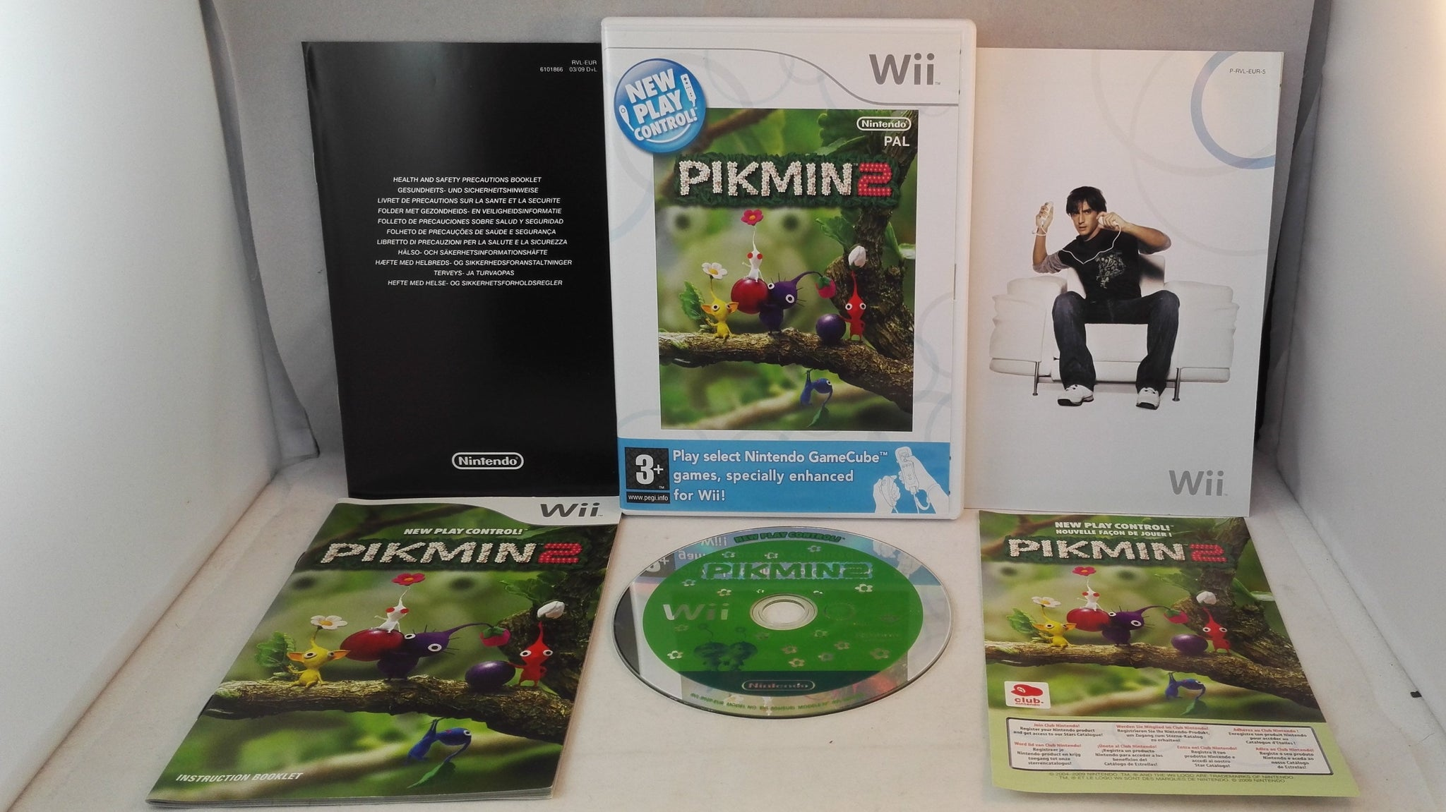 Pikmin 2 Nintendo Wii Game Retro Gamer Heaven
