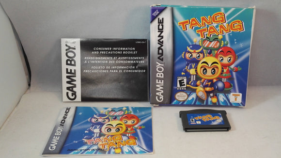 Tang Tang (Nintendo Gameboy Advance) boxed game