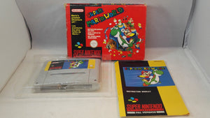 Super Mario World SNES (Super Nintendo Entertainment System) boxed game