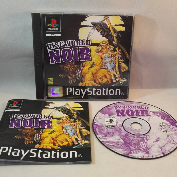 Discworld Noir PS1 (Sony Playstation 1) game