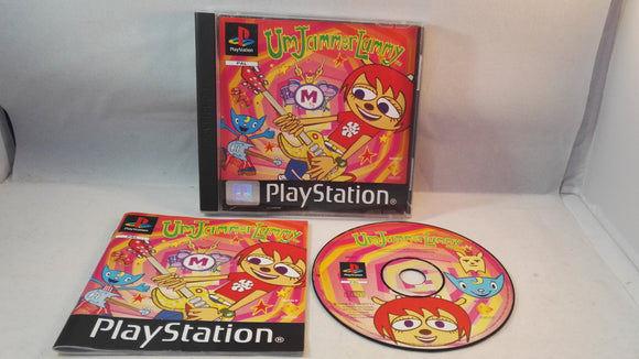 Um Jammer Lammy PS1 (Sony Playstation 1) game