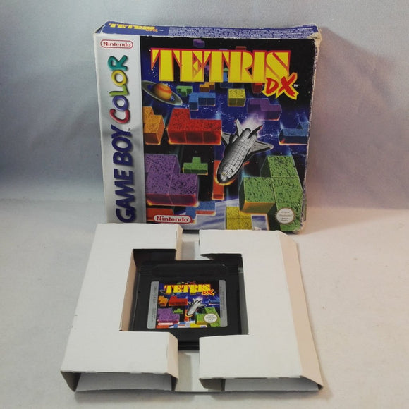 Tetris DX (Nintendo Gameboy Color) boxed game