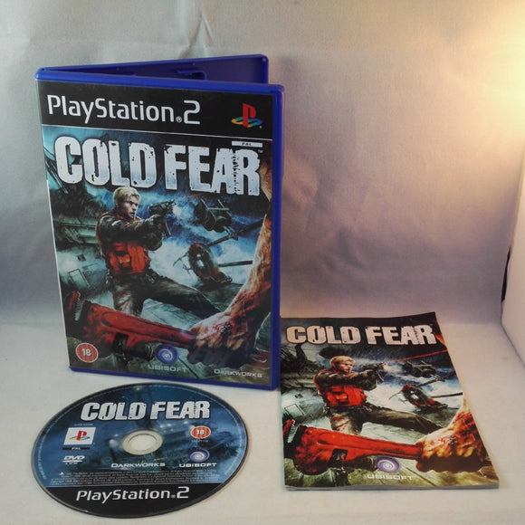 Cold Fear PS2 (Sony Playstation 2) game