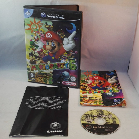 Mario Party 6 (Nintendo GameCube, 2005)