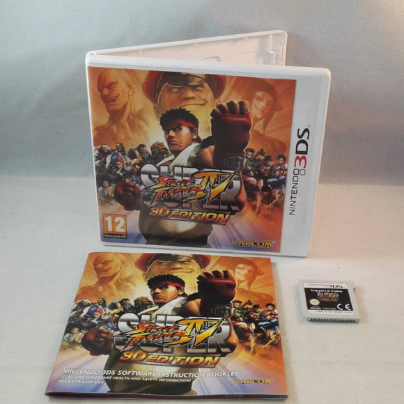Super Street Fighter IV 3D Edition Nintendo 3DS