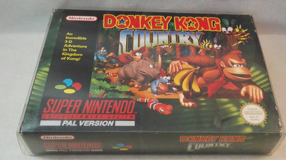 Donkey Kong Country SNES (Super Nintendo Entertainment System) Boxed, complete game