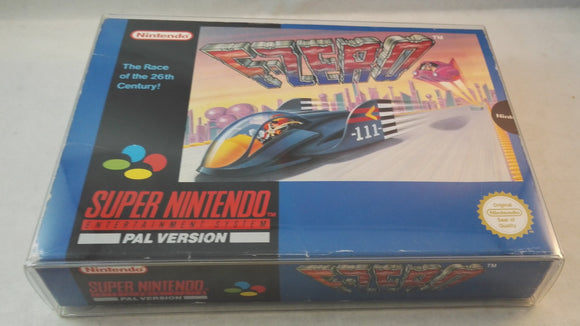 F-Zero SNES (Super Nintendo Entertainment System) Boxed Complete game