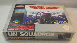 UN Squadron SNES (Super Nintendo Entertainment System) Boxed complete game
