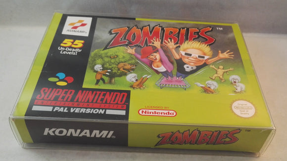 Zombies SNES (Super Nintendo Entertainment System) Boxed complete game