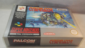 Cybernator SNES (Super Nintendo Entertainment System) Boxed, complete game