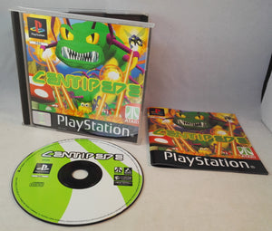 Centipede PS1 (Sony PlayStation 1) game