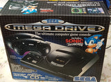 (Sega Mega Drive and Mega CD) Console package VGC hardly used
