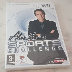 Brand New and Sealed Alan Hansen's Sports Challenge Nintendo Wii Game