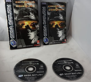 Command & Conquer (Sega Saturn) Game