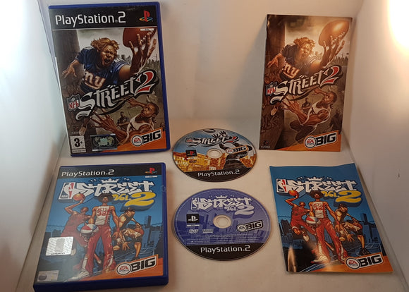 NBA & NFL Street 2 Bundle Sony Playstation 2 (PS2) Game