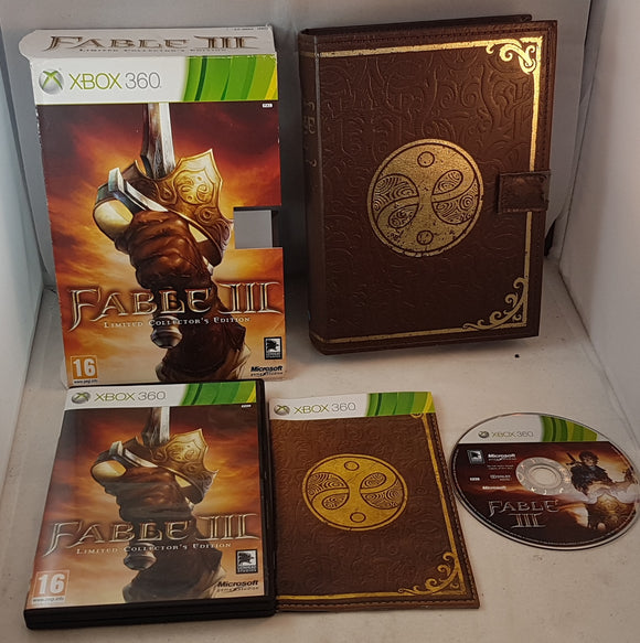 Fable III Limited Collectors Edition Xbox 360 Game