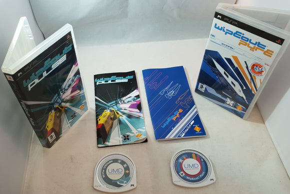 Wipeout Pulse & Pure Sony PSP Game bundle