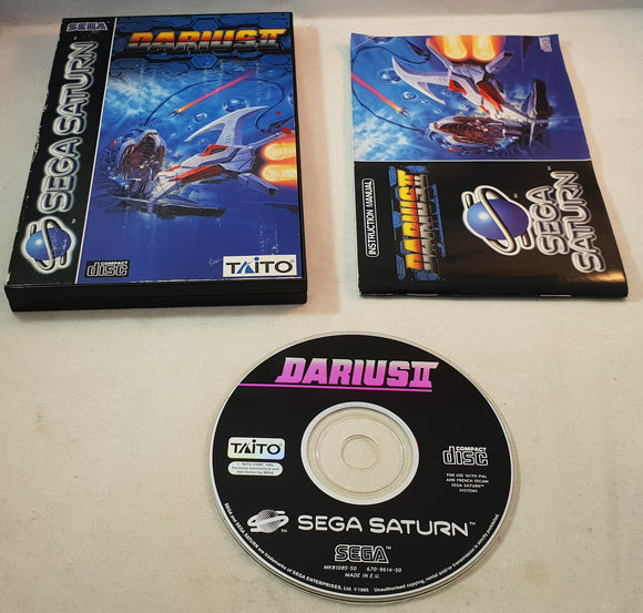 Darius II Sega Saturn Game