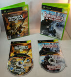 Boxed Xbox Original Console with Tom Clancy's Ghost Recon 2 & Rainbow Six 3 Black Arrow