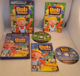 Bob the Builder & Bob the Builder Festival of Fun with Boxed Eye Toy Sony Playstation 2 (PS2) Game Bundle