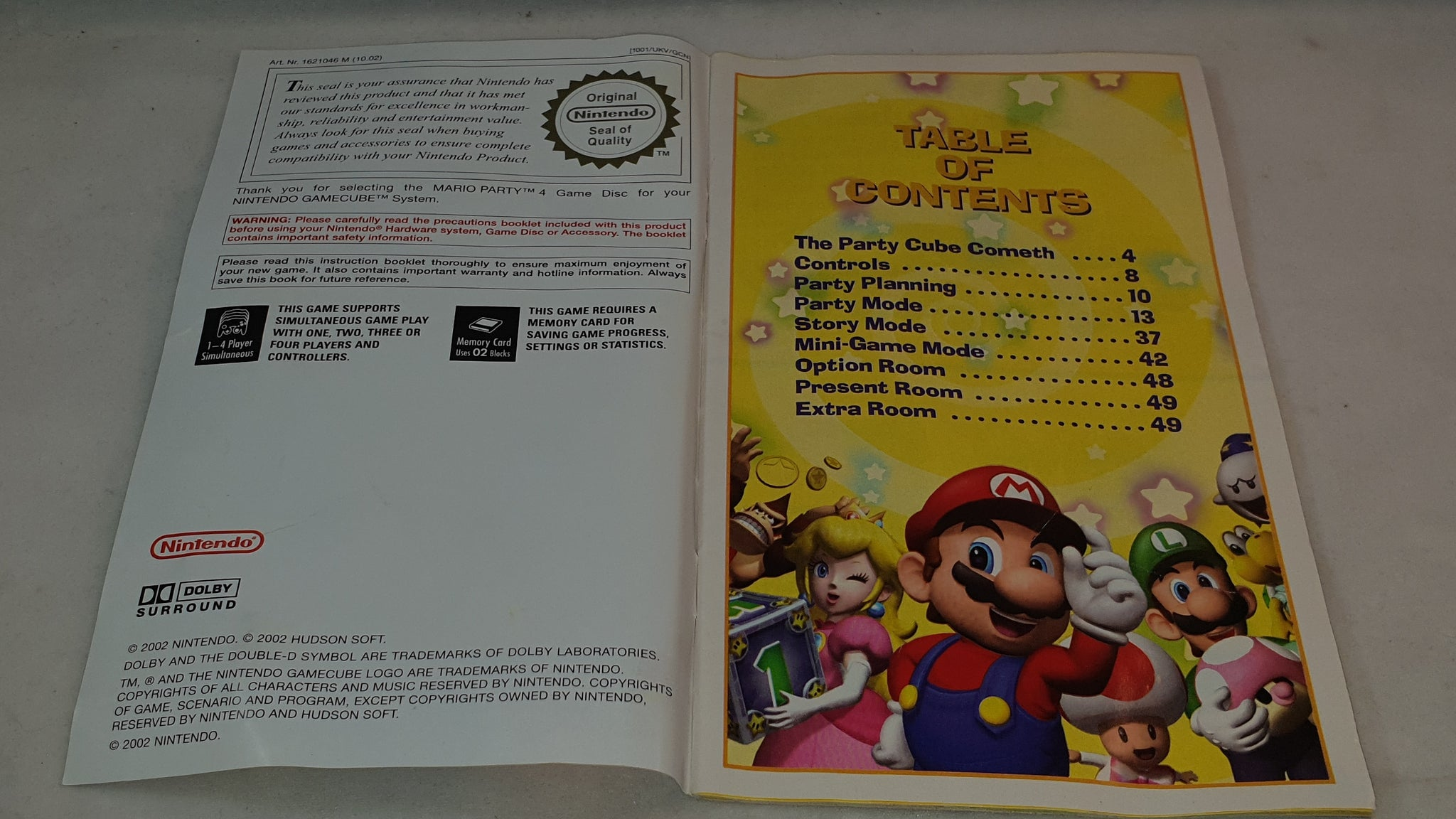 Mario Party 4 Nintendo GameCube Game – Retro Gamer Heaven