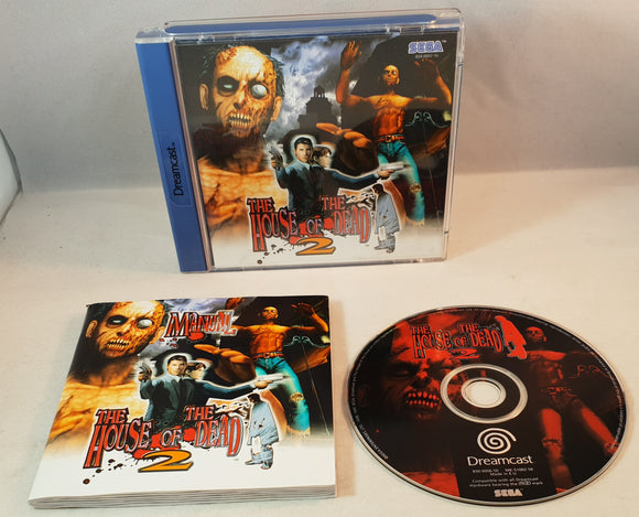 The House of the Dead 2 Sega Dreamcast Game