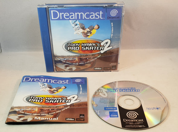 Tony Hawk's Pro Skater 2 (Sega Dreamcast) Game