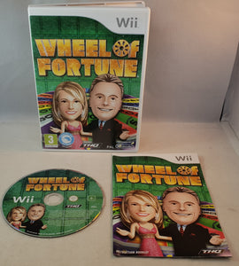 Wheel of Fortune Nintendo Wii Game