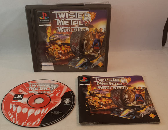 Twisted Metal World Tour PS1 (Sony Playstation 1) game