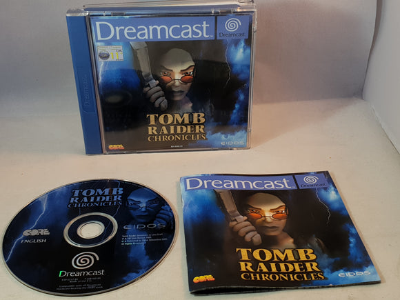 Tomb Raider Chronicles Sega Dreamcast Game