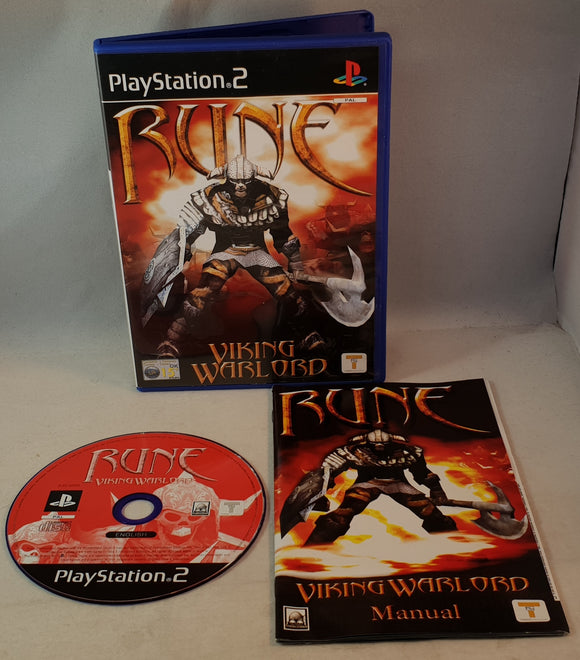 Rune Viking Warlord Sony Playstation 2 (PS2) Game