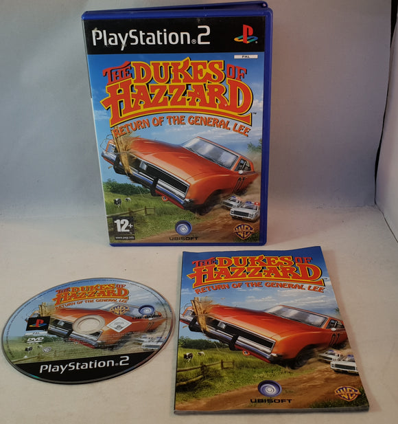 The Dukes of Hazzard Return of the General Lee Sony Playstation 2 (PS2) Game