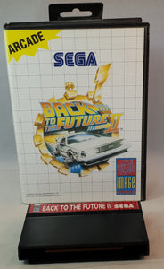 Back to the Future II Sega Master System Game