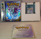 Pokemon Crystal Version Game Boy Color Game