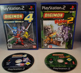 Digimon World 4 & Digimon Rumble Arena 2 Sony Playstation 2 (PS2) Game Bundle