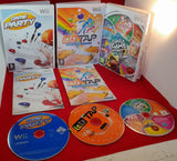 Lets Tap, Family Game Night & Game Party Nintendo Wii Game Bundle