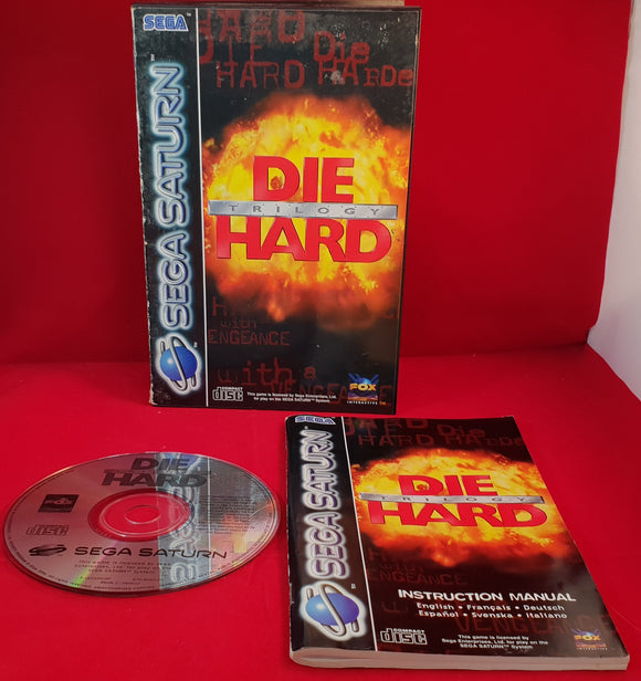 Die Hard Trilogy Sega Saturn Game