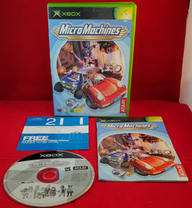 Micro Machines Microsoft Xbox Game