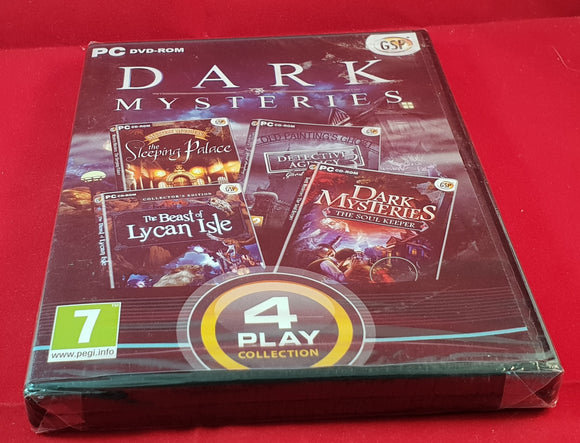 Brand New and Sealed Dark Mysteries PC Game