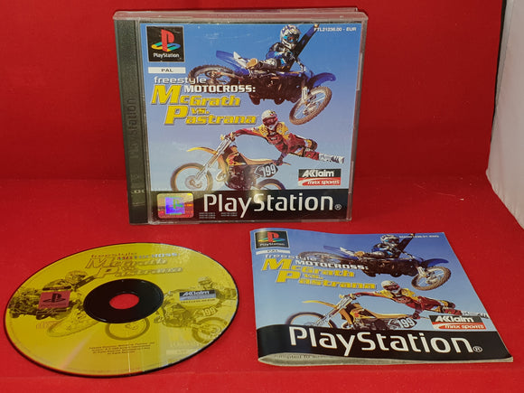 Freestyle Motocross McGrath Vs Pastrana Sony Playstation 1 (PS1) Game