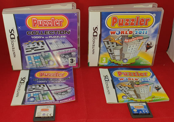 Puzzler Collection & Puzzler World 2011 Nintendo DS Game Bundle