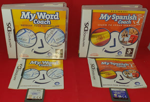 My Word Coach & My Spanish Coach Nintendo DS Game Bundle