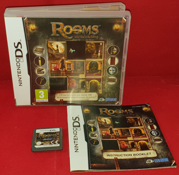Rooms the Main Building Nintendo DS Game