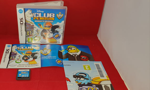 Club Penguin Herbert's Revenge Nintendo DS Game