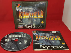 King's Field PS1 original black label (Sony Playstation 1) game RARE